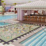 Foxtail Pool SLS Las Vegas