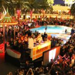 Encore Beach Club at Night