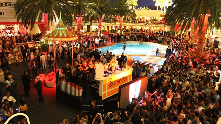 Encore Beach Club At Night Is Thursday Friday 2016