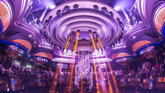 OMNIA Nightclub Kinetic Chandelier