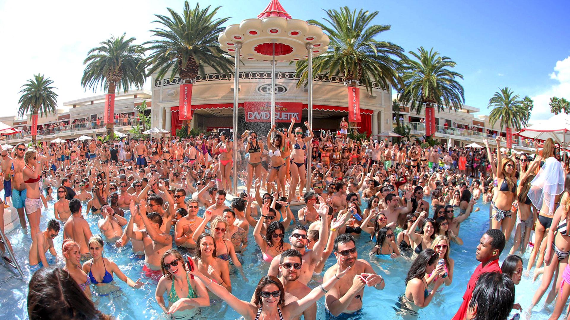 Encore Beach Club Pool Party Vegas